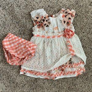 Matilda Jane happy and feee spiced clove dress